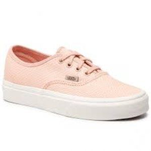 Vans BNWT Woven check Sneaker NEW lace up pink